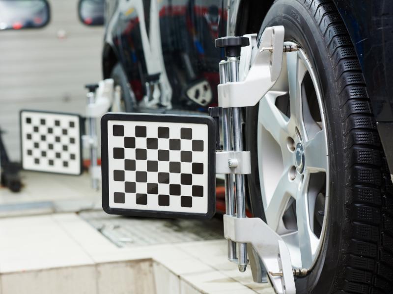 misaligned wheels