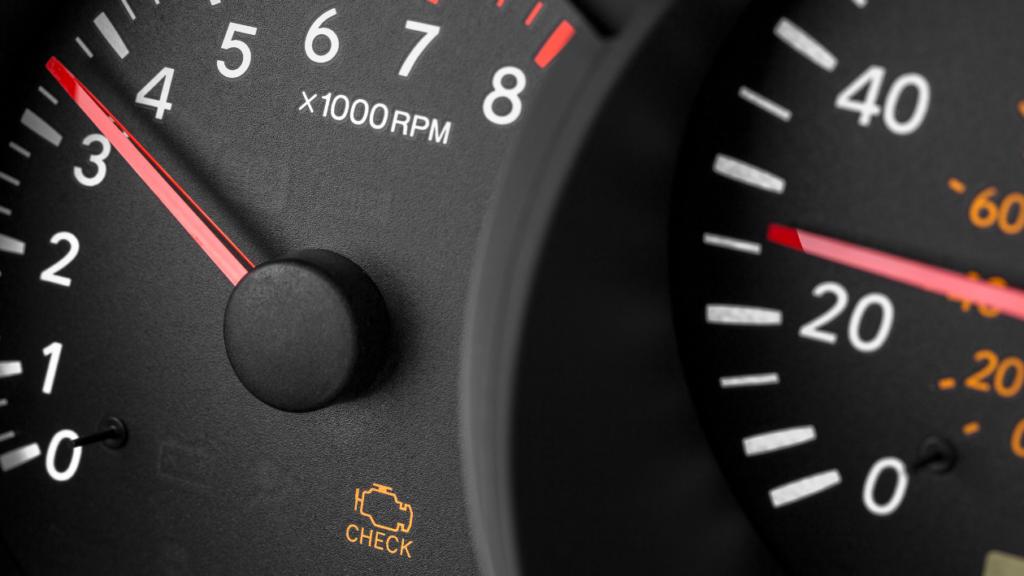 check engine warning